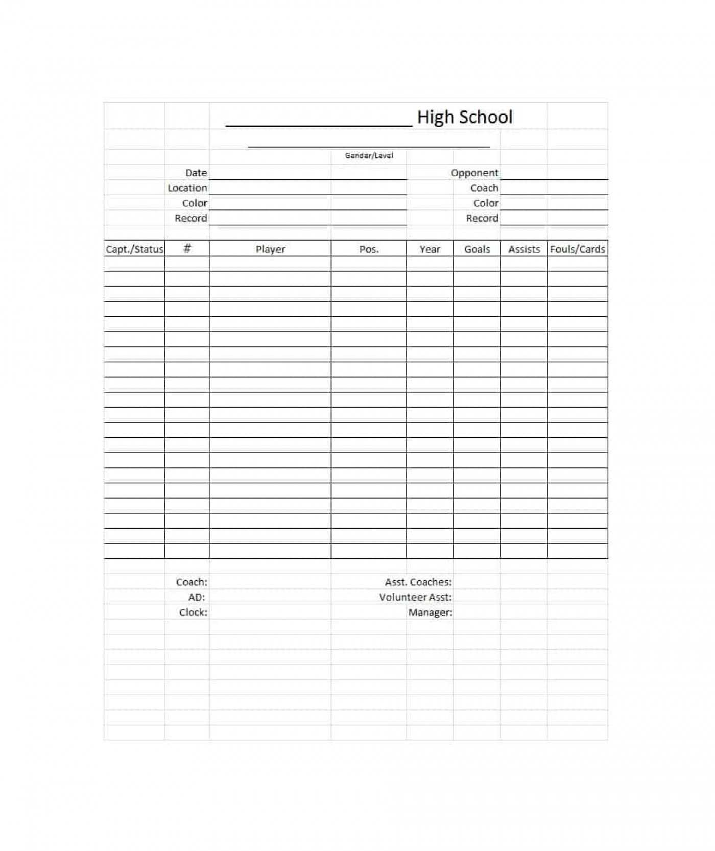 010 Template Ideas High School Report Card Word 20The Pertaining To Soccer Report Card Template