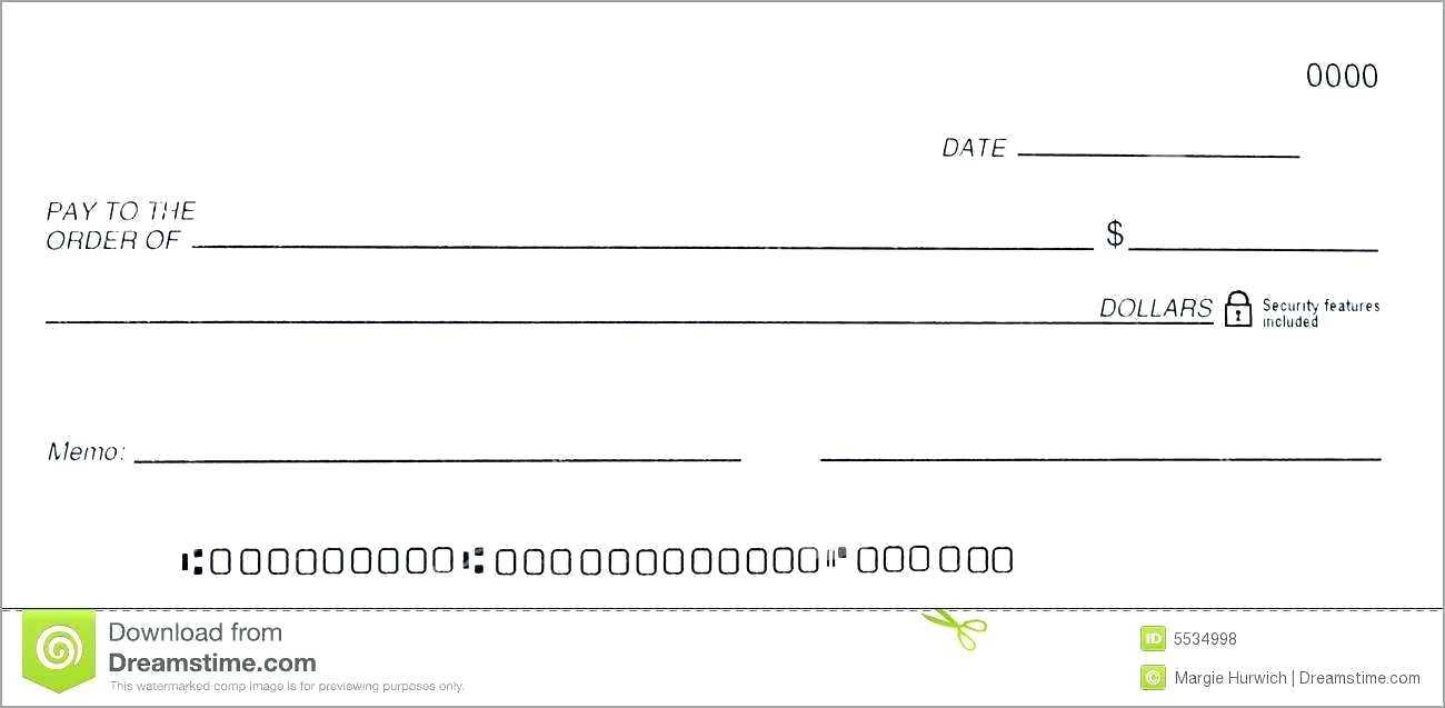 014 Free Blank Business Check Template Good Of Dummy Cheque Intended For Blank Business Check Template