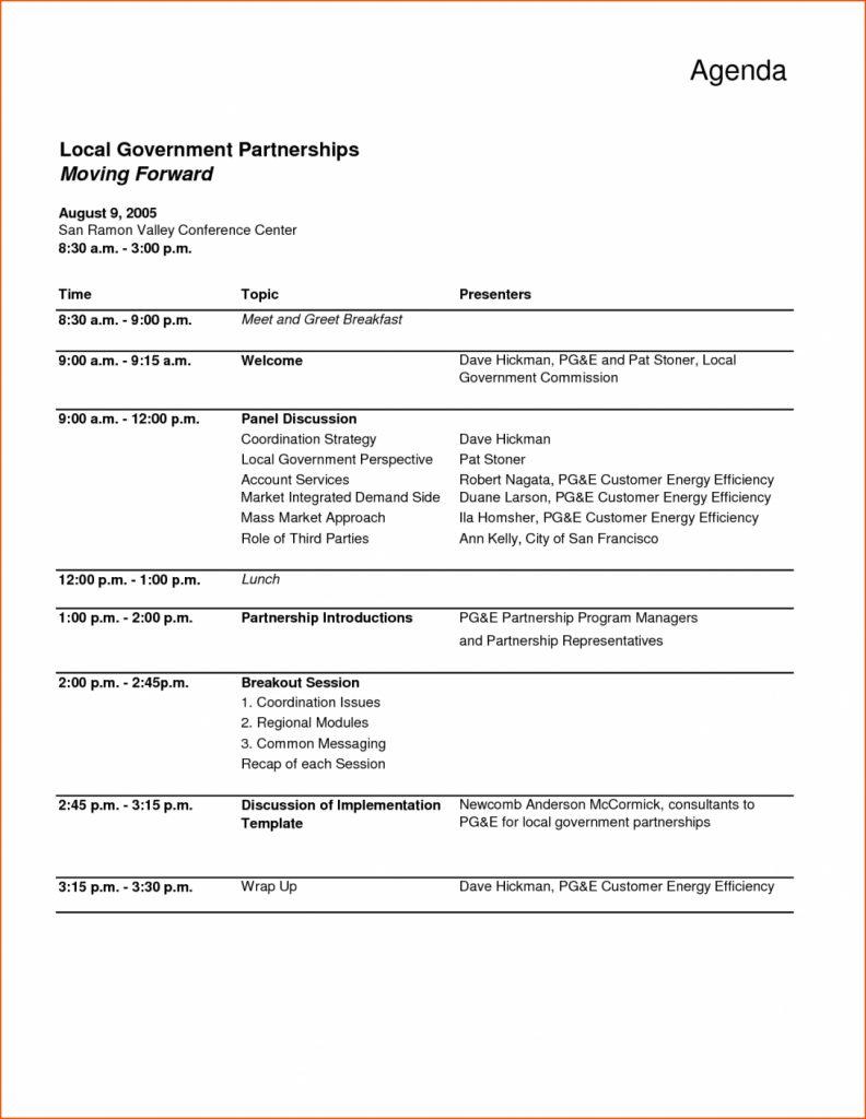 032 Free Event Program Templates Agenda Template Word pertaining to Event Agenda Template Word