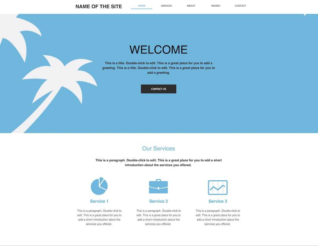 10+ Best Free Blank Website Templates For Neat Sites 2019 With Regard To Html5 Blank Page Template