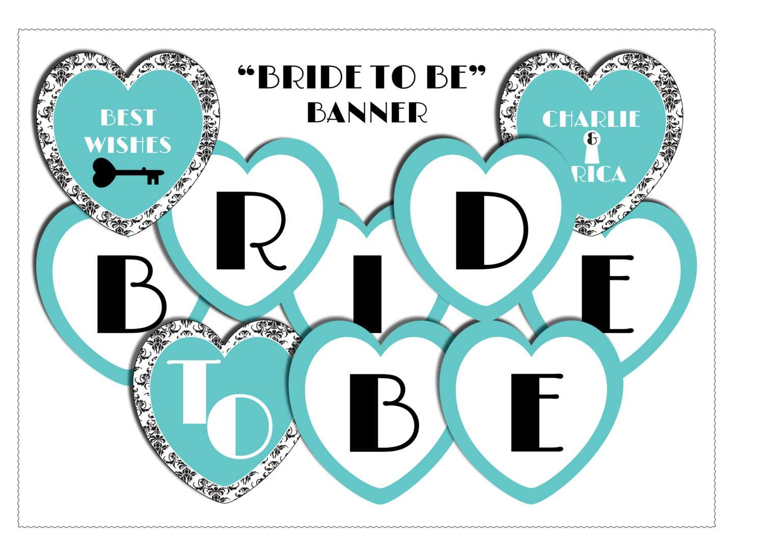 11 Best Photos Of Bride To Be Banner Template - Diy Bridal With Regard To Free Bridal Shower Banner Template