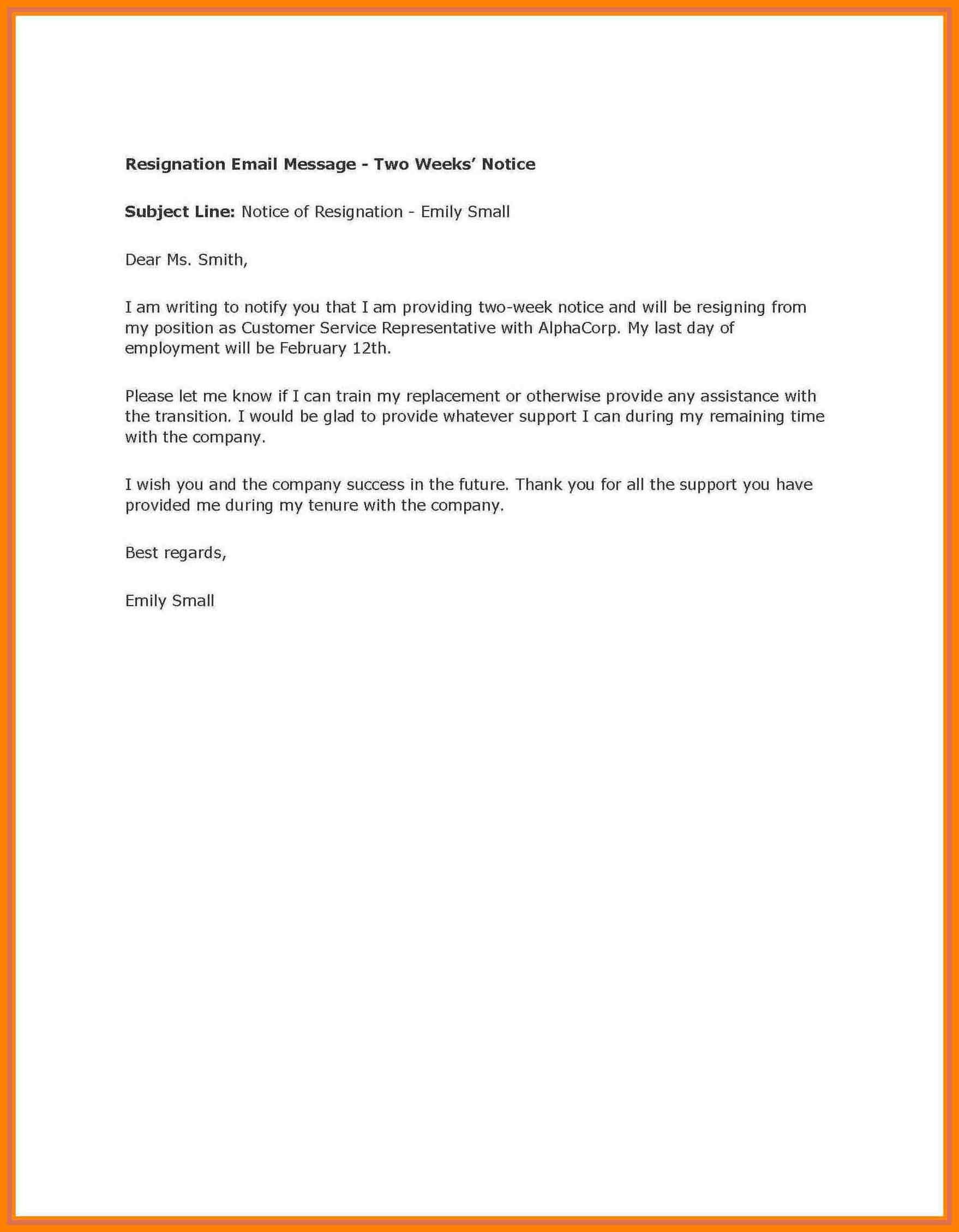 2 Weeks Notice Template Word - Mahre.horizonconsulting.co Intended For 2 Weeks Notice Template Word