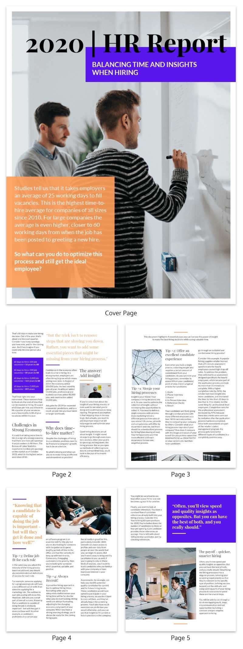 20+ Page Turning White Paper Examples [Design Guide + White For White Paper Report Template