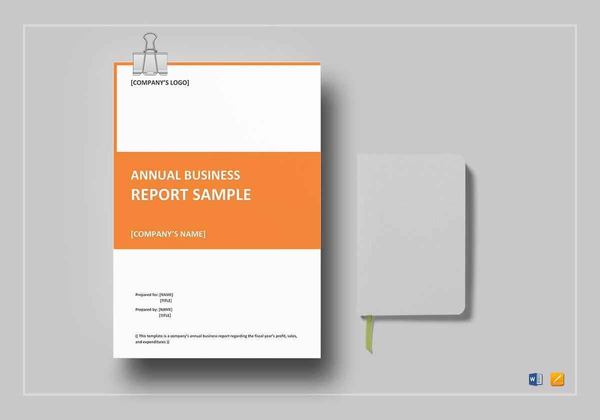 Annual Business Report Template Regarding Word Annual Report Template