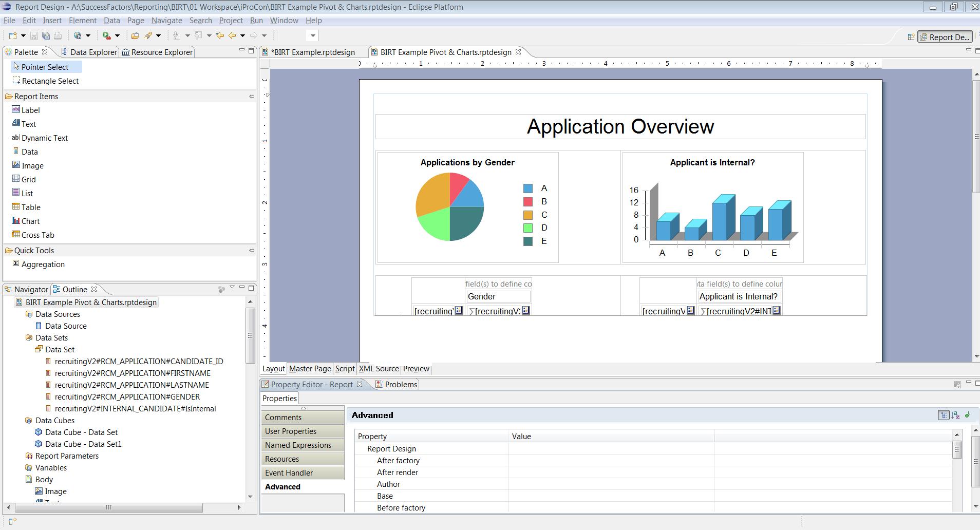 Birt Report Templates In Sap Successfactors – Part 3 - Ixerv For Birt Report Templates