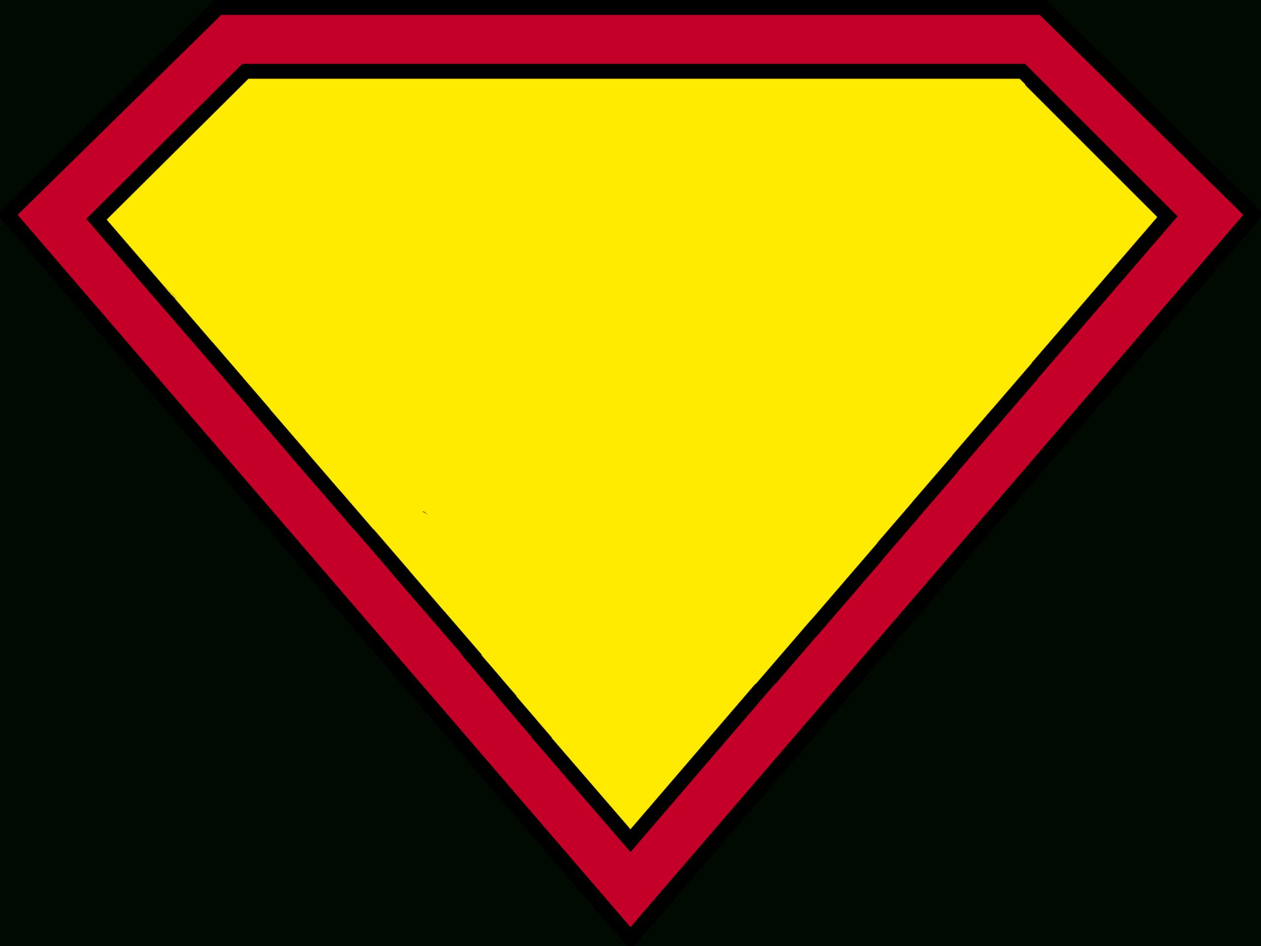 Blank Superman Logos Inside Blank Superman Logo Template