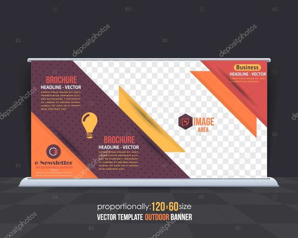 Business Theme Outdoor Banner Design, Advertising Vector In Outdoor Banner Design Templates