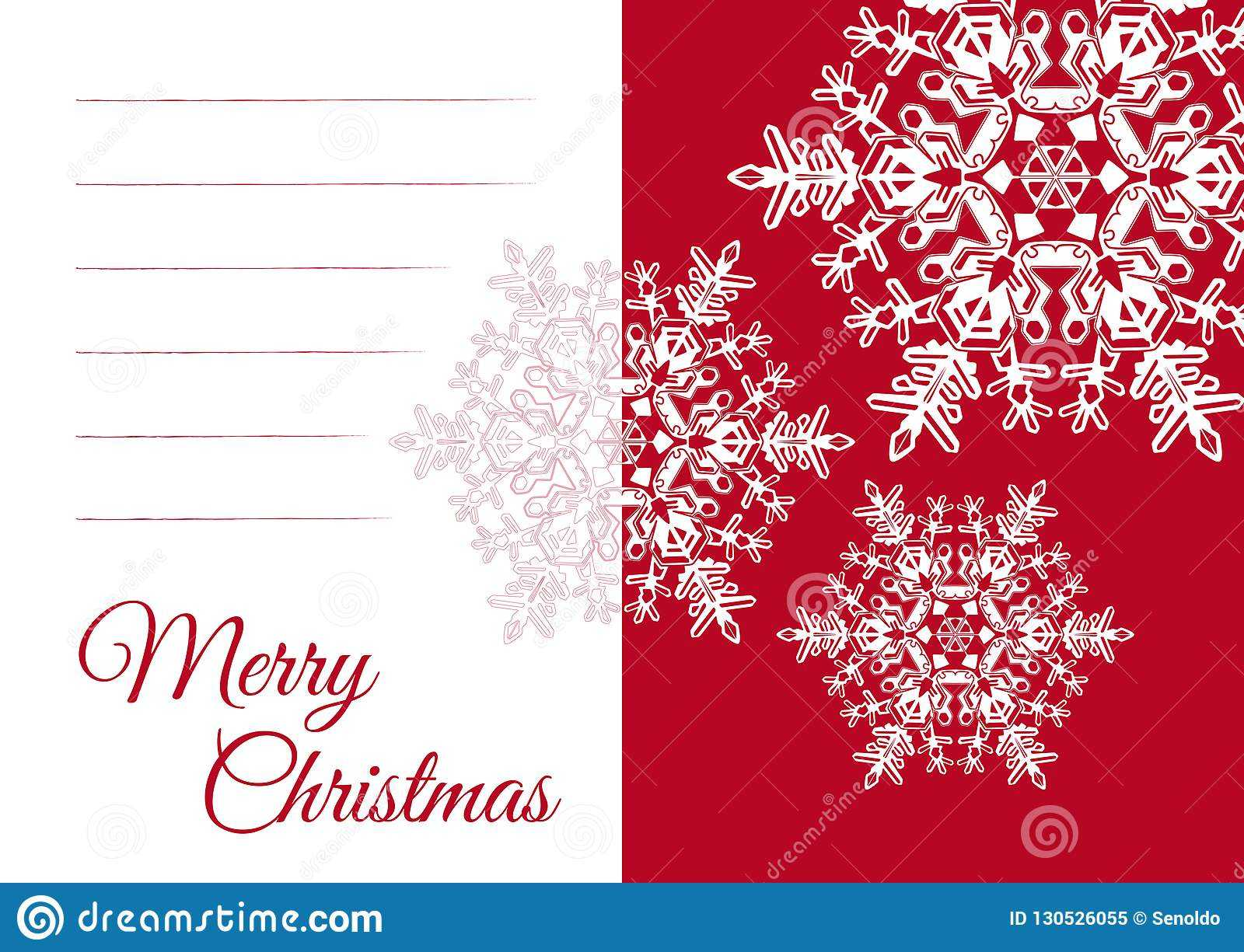 Christmas Greeting Card Template With Blank Text Field Stock With Blank Christmas Card Templates Free