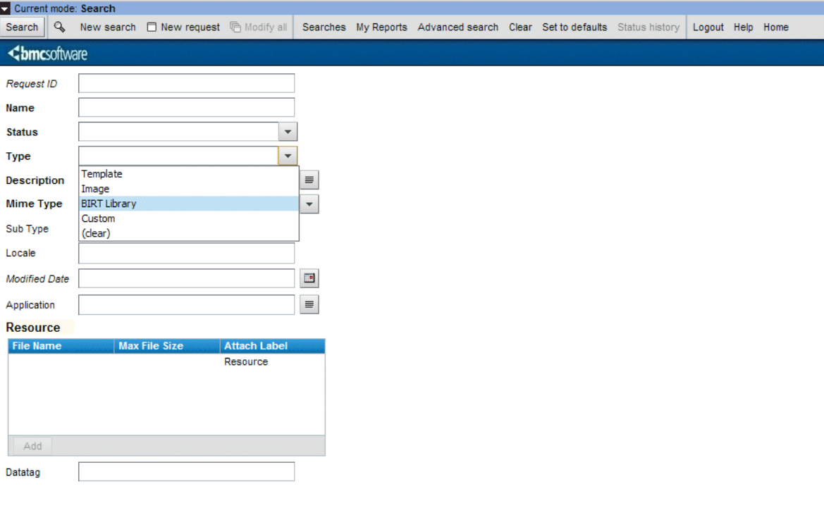 Enabling Birt To Access Your Ar System Datasetting Birt Inside Birt Report Templates