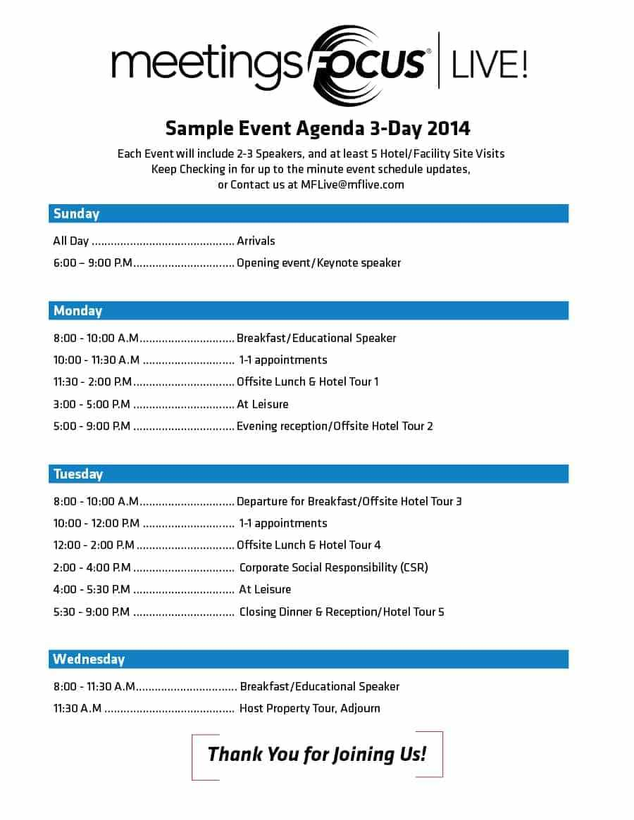 Event Program Examples – Mahre.horizonconsulting.co With Event Agenda Template Word