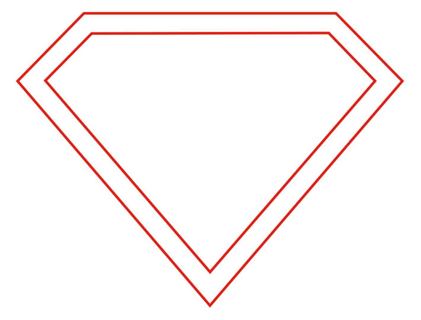 Free Empty Superman Logo, Download Free Clip Art, Free Clip Intended For Blank Superman Logo Template