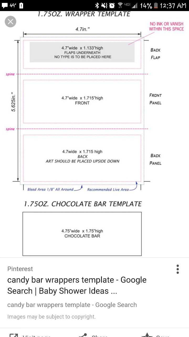 Hershey Bar Candy Wrapper Template - Mahre.horizonconsulting.co Within Candy Bar Wrapper Template For Word
