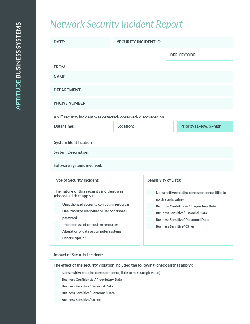 How To Write An Effective Incident Report [Examples + With It Incident Report Template