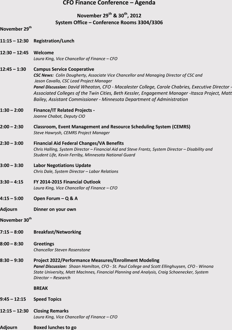 How To Write And Format A Conference Meeting Agenda (With with regard to Event Agenda Template Word