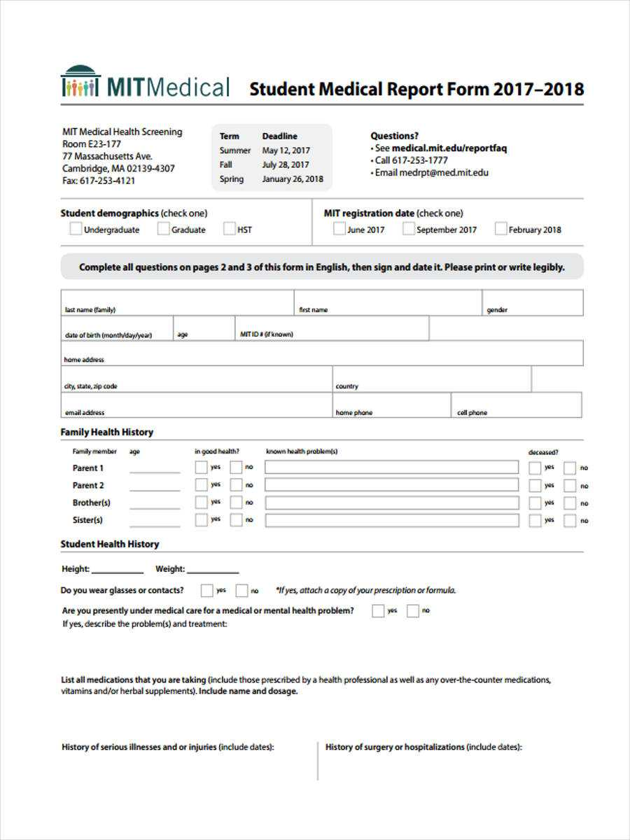 Medical Reports Sample – Zohre.horizonconsulting.co With Regard To Medical Report Template Doc