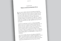Professional-Looking Book Template For Word, Free - Used To Tech inside How To Create A Book Template In Word