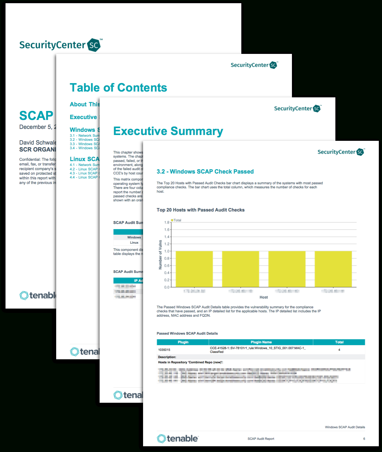 Scap Audit Report - Sc Report Template   Tenable® With Regard To Security Audit Report Template