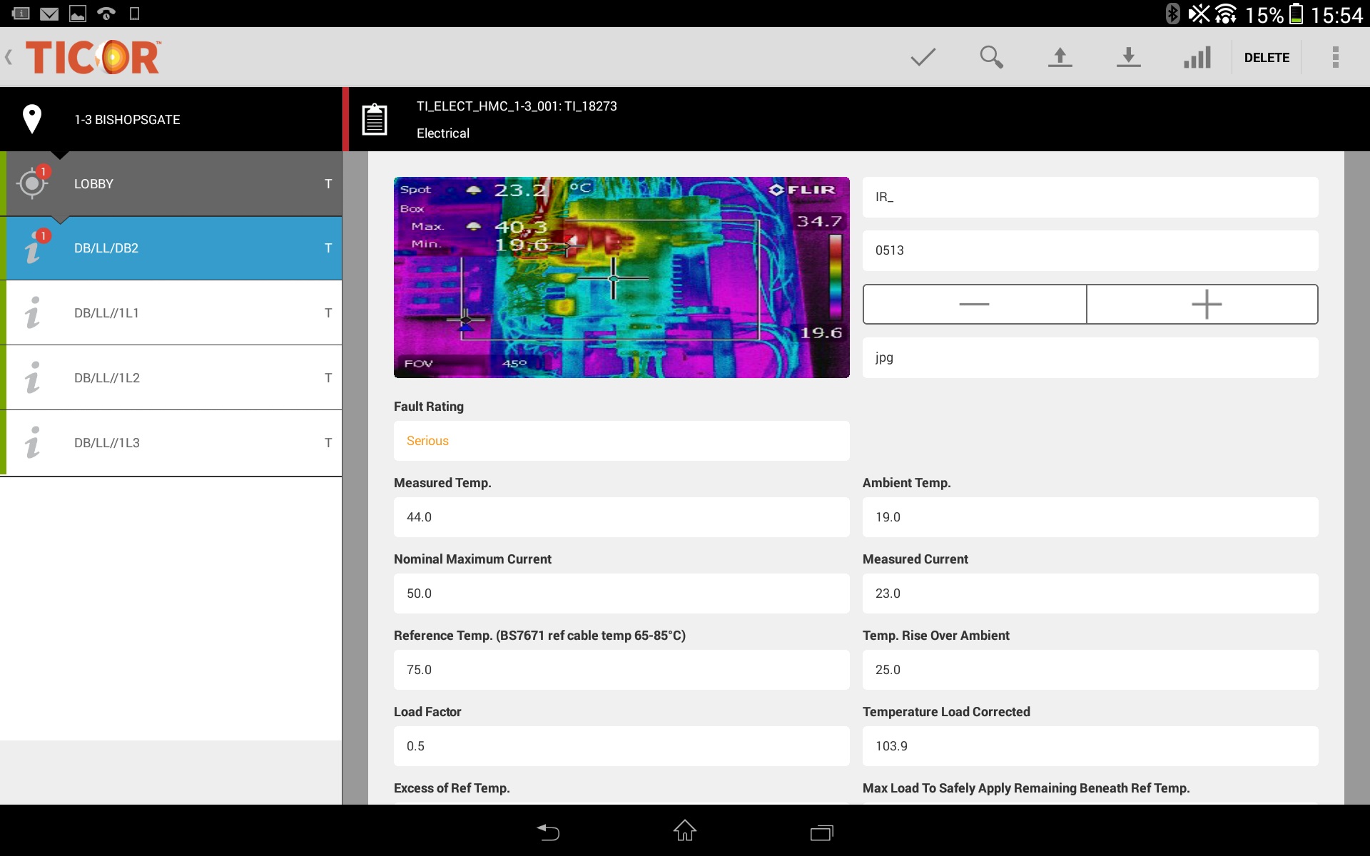 Thermal Imaging Software - Ticor Pertaining To Thermal Imaging Report Template